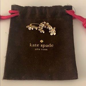 Kate Spade Floral Ear Crawlers